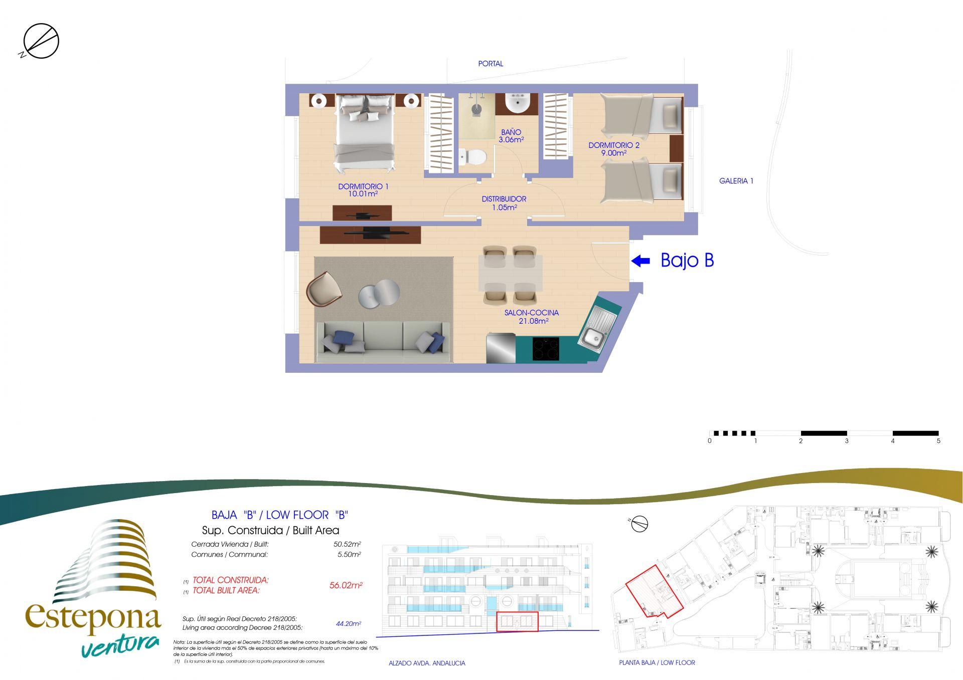 20201221 BAJO B  - Ventura Estepona | Compra de casa en Estepona